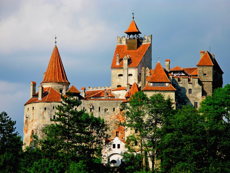 Bran Castle in Romania - most incredible hut-to-hut hikes in Europe