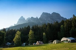 Camping Seiser Alm, South Tyrol, Italy