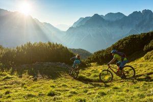 Landscape Austria cycling