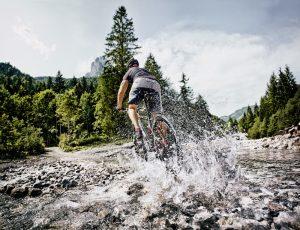 Mountain biking in St Johann in Tirol