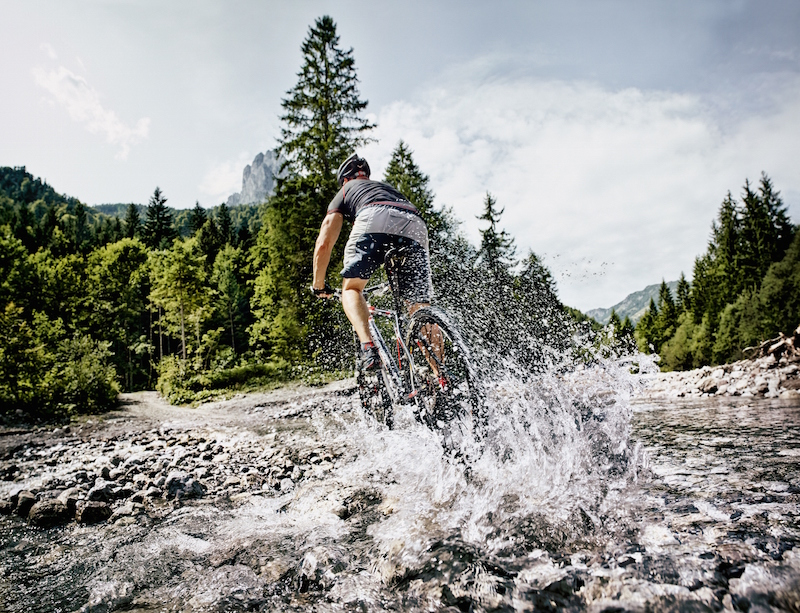Mountain biking in St Johann in Tirol