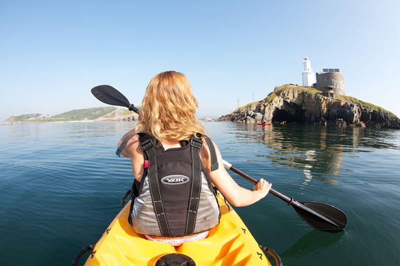 Swansea Bay kayaking