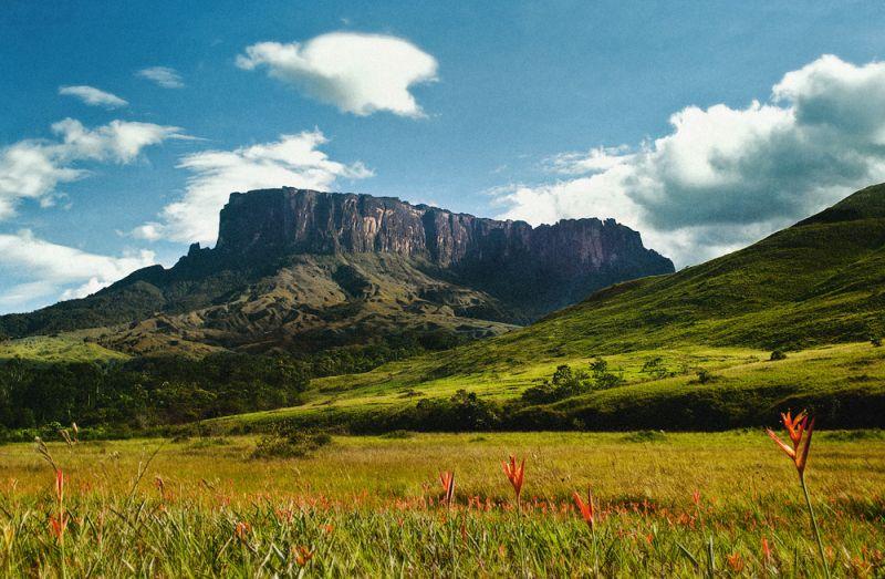 Tepuis mountains