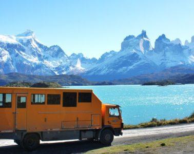 Torres del Paine, Patagonia, overland
