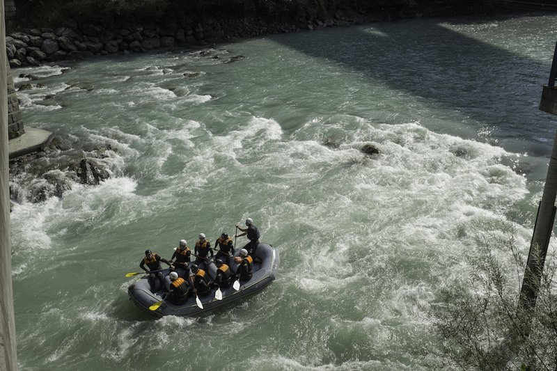 White water rafting in St Anton am Arlberg
