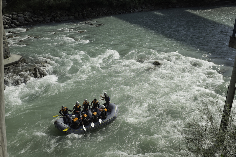 White water rafting - one of the best things to do in St Anton am Arlberg