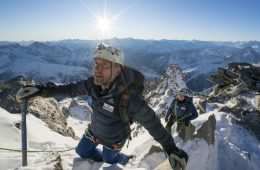 Ben Fogle mountaineering