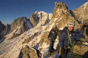 Ben Fogle Victoria Pendleton climbing