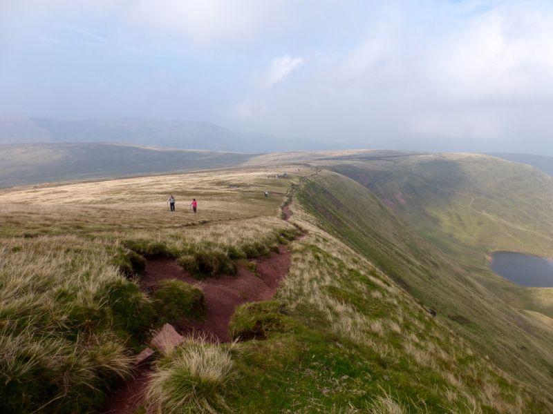 Cwm Llwch Horseshoe Brecon Beacons