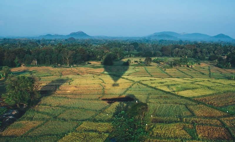 hot air balloon adventure Sri Lanka