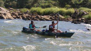 Mahaeli Adventure canoeing Sri Lanka
