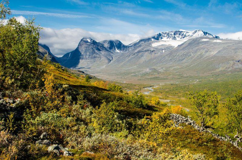 Mount Kebnekaise Sweden