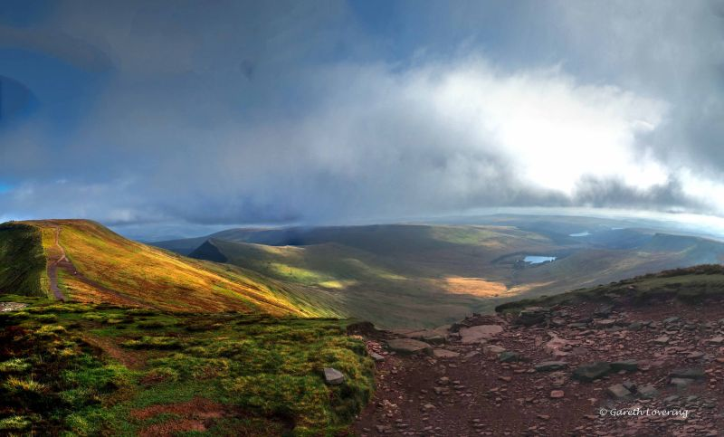Pont ar Darf to Pen y Fan