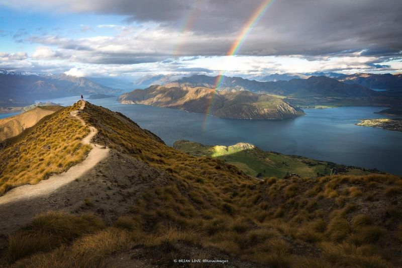 Roys Peak best hikes in New Zealand
