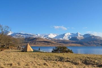 Tentipi camping