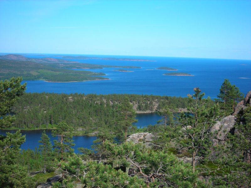The High Coast Trail, Sweden