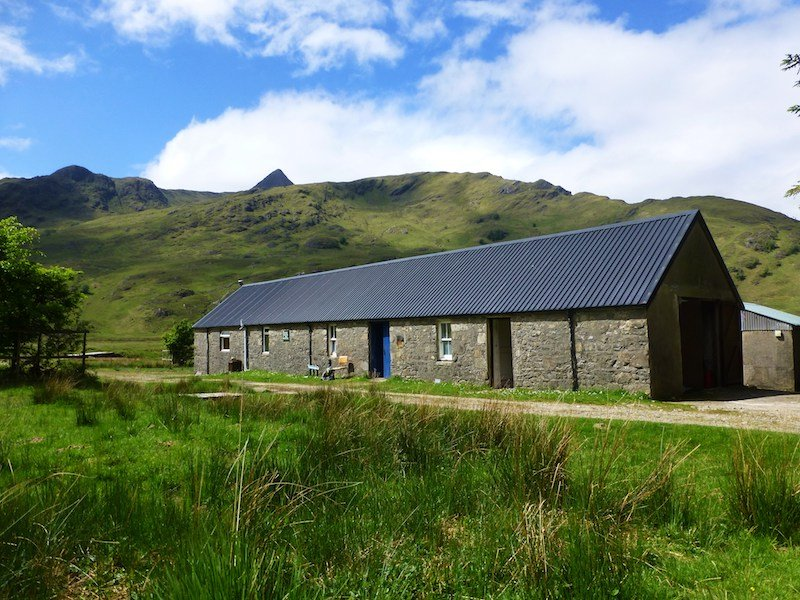 Barisdale bothy Scotland