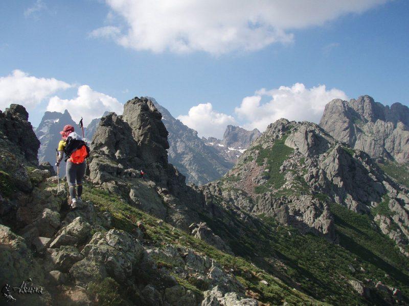 Corsica GR20 hike