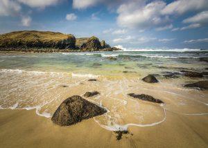 Dalbeg Beach, Outer Hebrides, Scotland