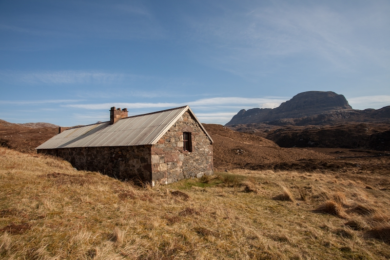 Suileag bothy Scotland