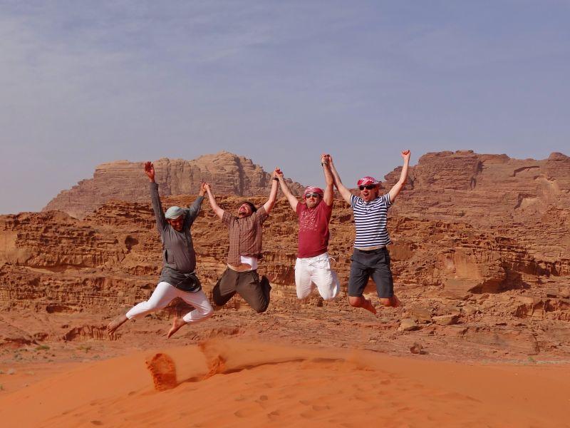 Desert Trekking - Jordan Wadi Rum