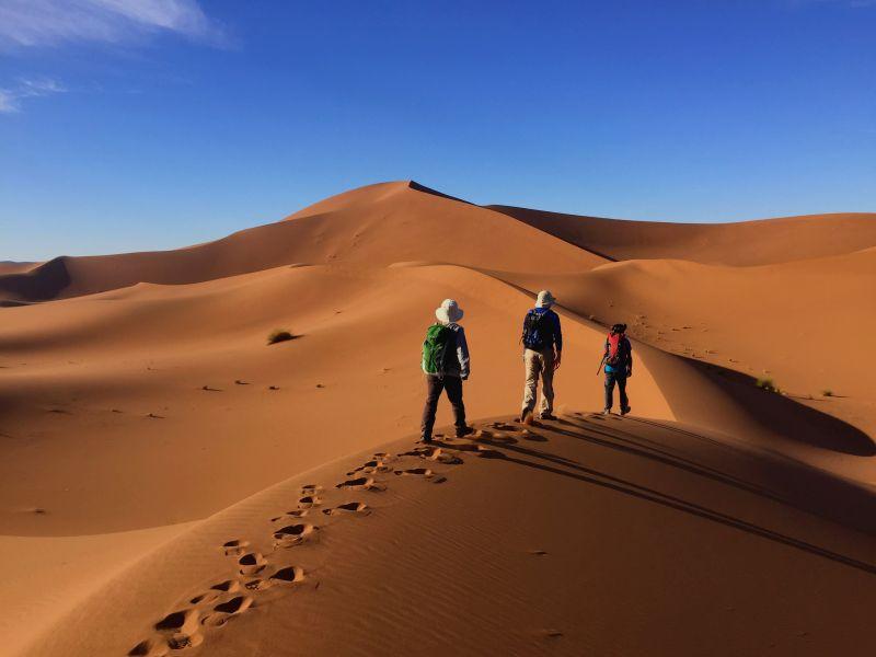 Desert Trekking- Morocco Sahara
