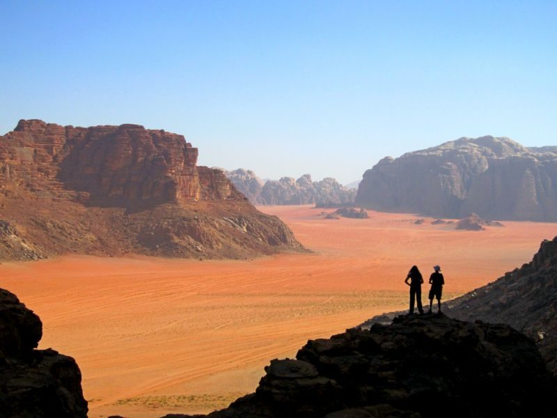 Desert trekking adventures
