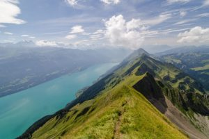 Hardergrat trail, switzerland - best ridge walks