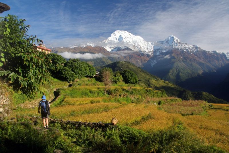 Hidden Annapurna Trek 16 - Khopra Ridge, Nepal - best ridge walks