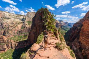 angel's landing, USA - best ridge walks