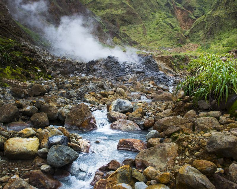 boiling lake hike, dominica, best hiking destinations outside of europe