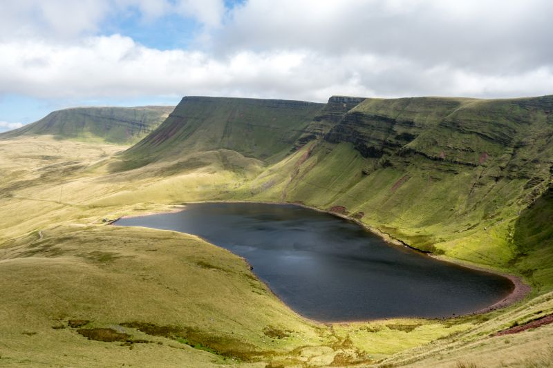 brecon beacons - best one-day walks in wales