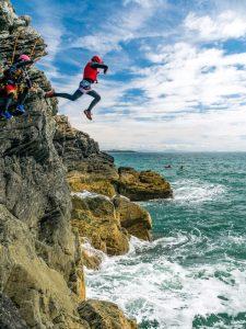 coasteering anglesey - UK summer bucket list