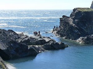 coasteering at the blue lagoon - Robin Drayton