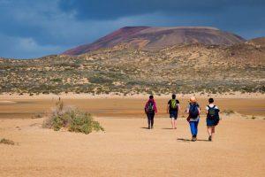 desert rekking - Lanzarote