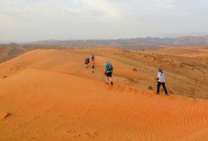 desert trekking - Oman