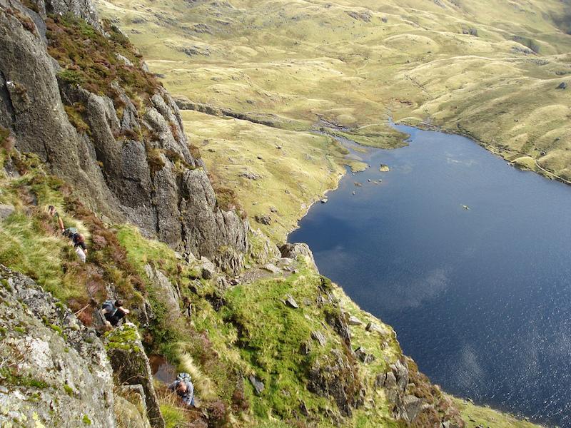 Jack's Rake, Pavey Ark, Lake District