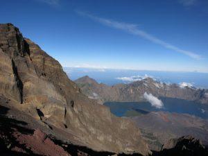 mount rinjani, lombok - hiking destinations outside of europe