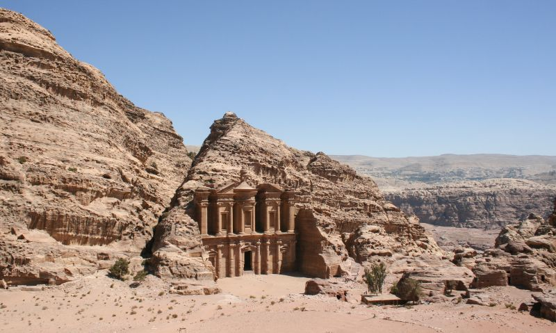petra, jordan, best hiking destinations outside of europe
