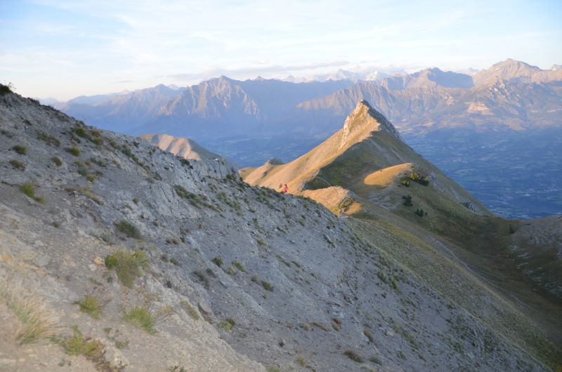 pic de gleize in the Alps, france - best ridge walks