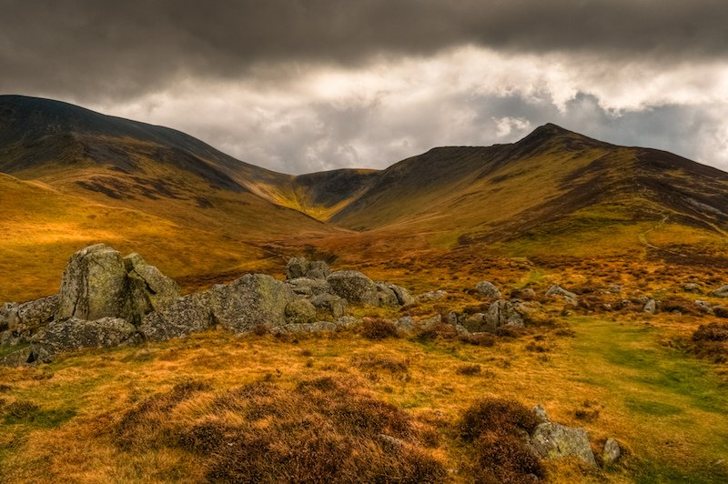 best walks in the Lake District Skiddaw