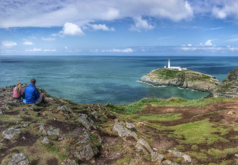 south stack - best one-day walks in wales