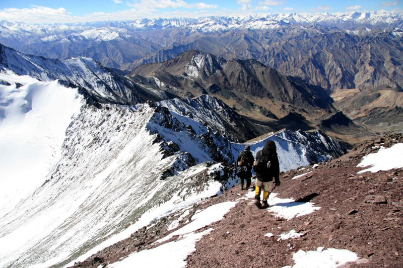 stok kangri, india - best ridge walks