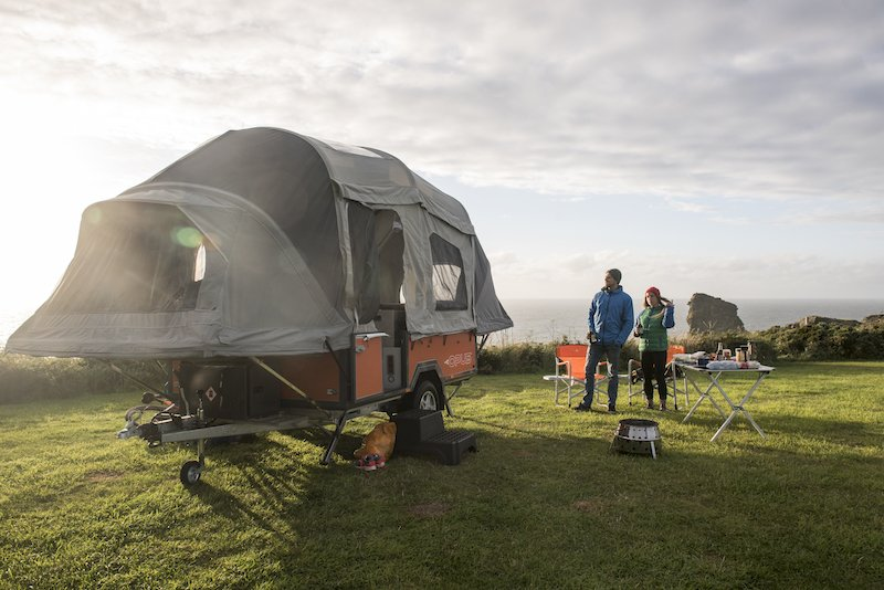The Opus camper