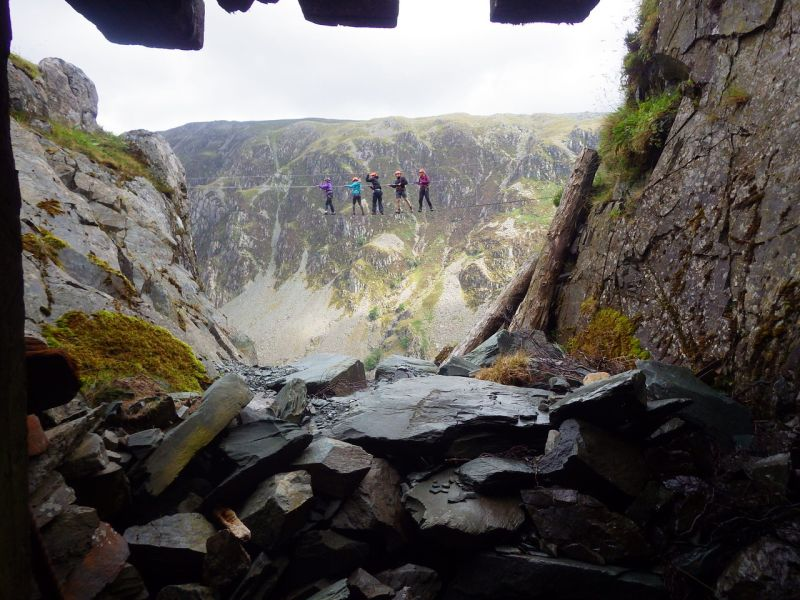 via ferrata - UK summer bucket list