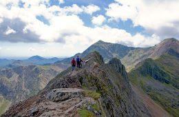 What is scrambling? Crib Goch Snowdonia Wales