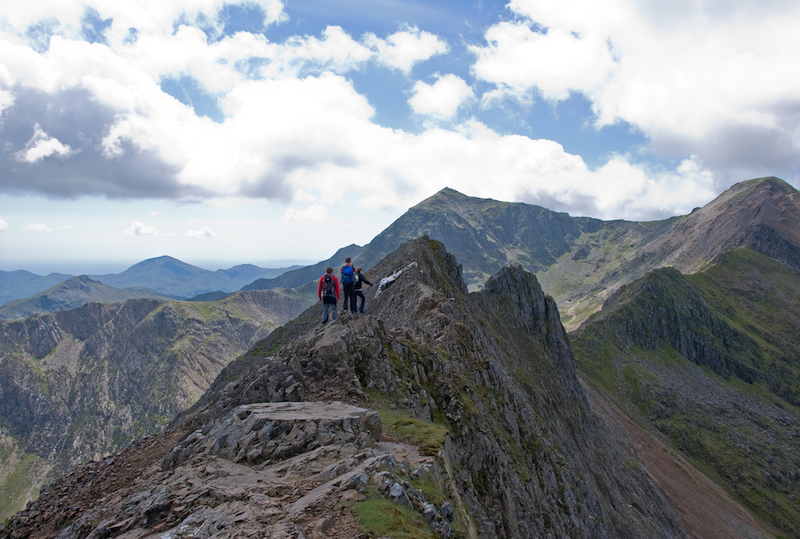 What is scrambling? Snowdonia Crib Goch Wales
