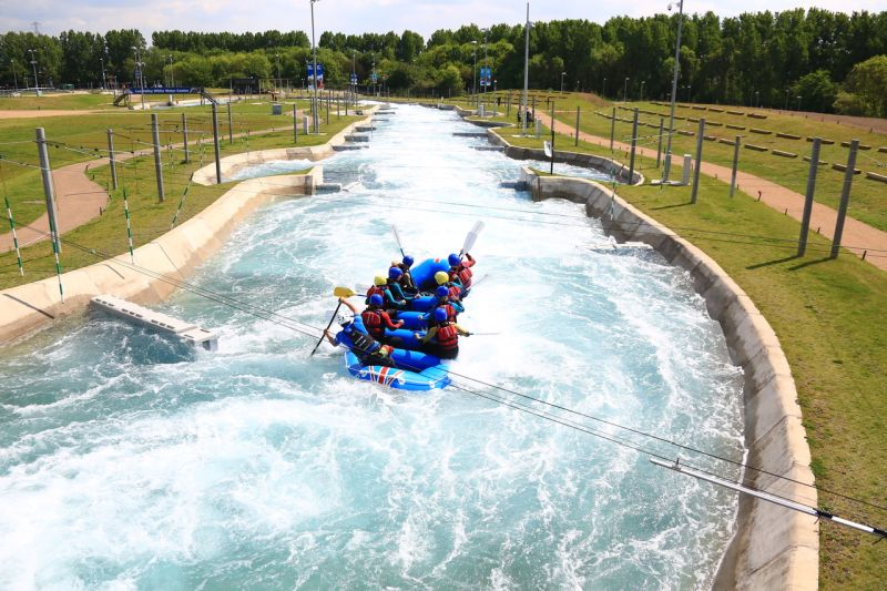 UK summer bucket list - white water rafting