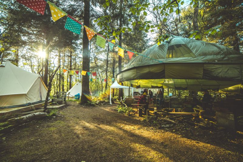 wild camp cornwall - UK summer bucket list