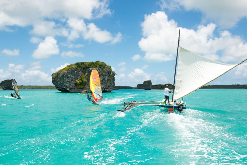 Baie d'Upi - windsurfing - new caledonia